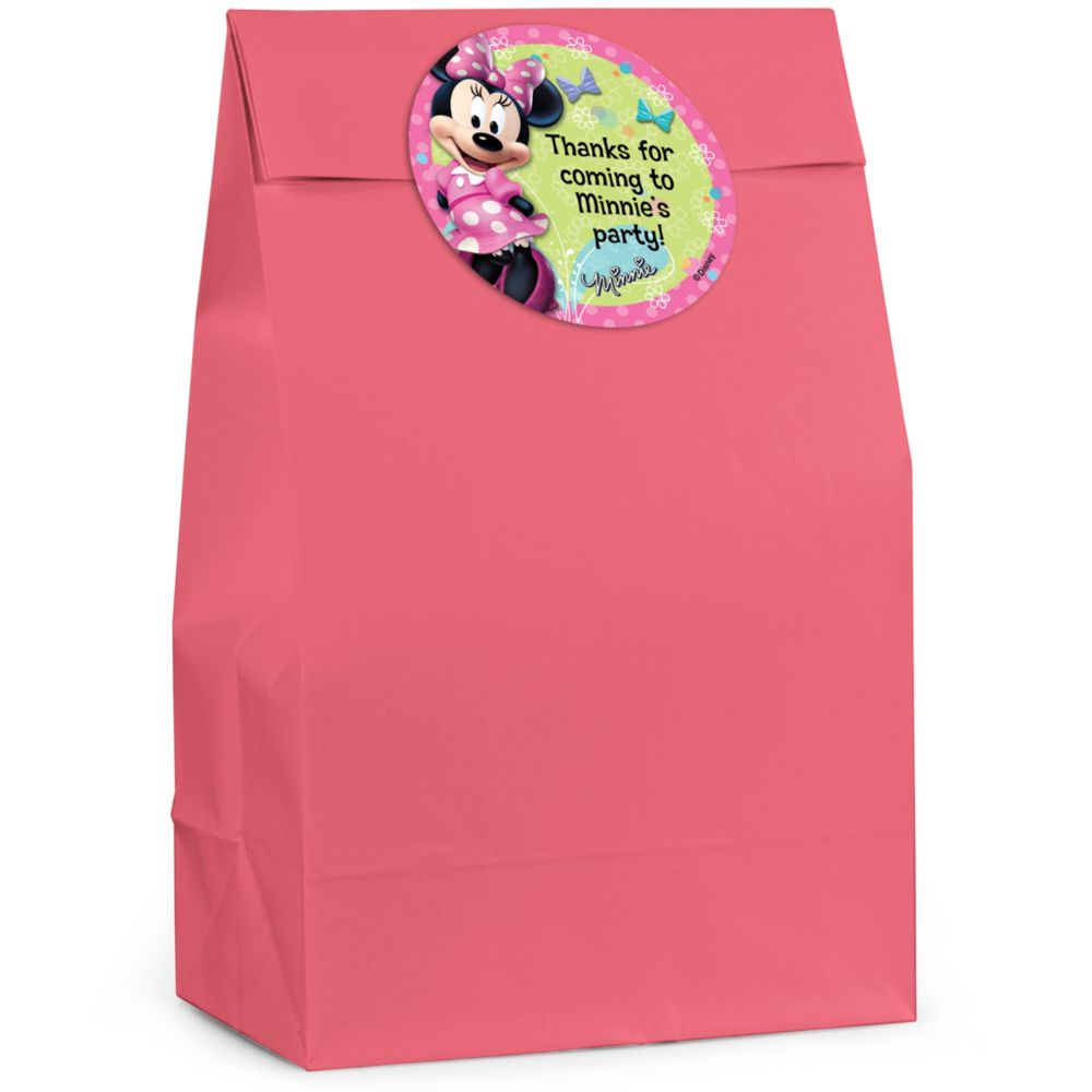Minnie Mouse Personalized Favor Bag (Set Of 12) BB122FB