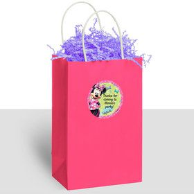 Minnie Mouse Personalized Kraft Handle Favor Bags (10 Count)