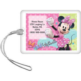 Minnie Mouse Personalized Luggage Tag (Each)