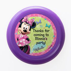 Minnie Mouse Personalized Mini Discs (Set Of 12)