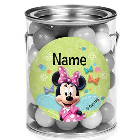Minnie Mouse Personalized Mini Paint Cans (12 Count)