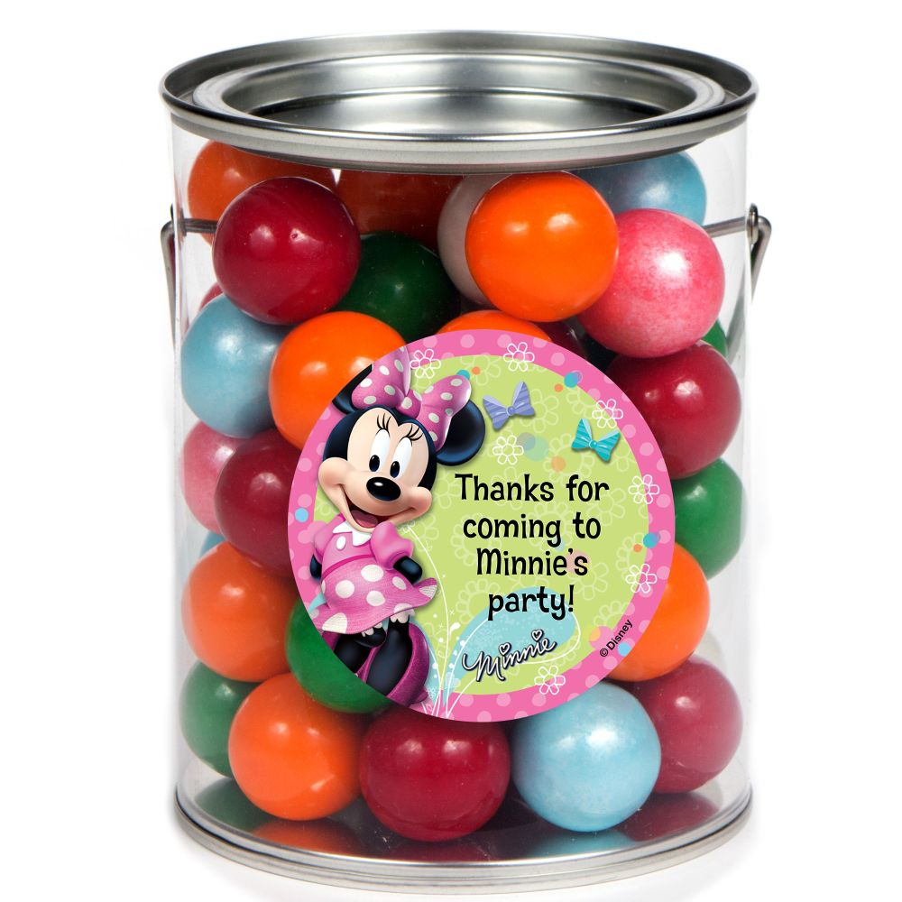 Minnie Mouse Personalized Paint Can Favor Container (6 Pack) BB1332PC