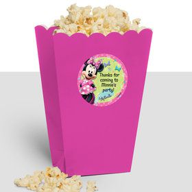 Minnie Mouse Personalized Popcorn Treat Boxes (10 Count)