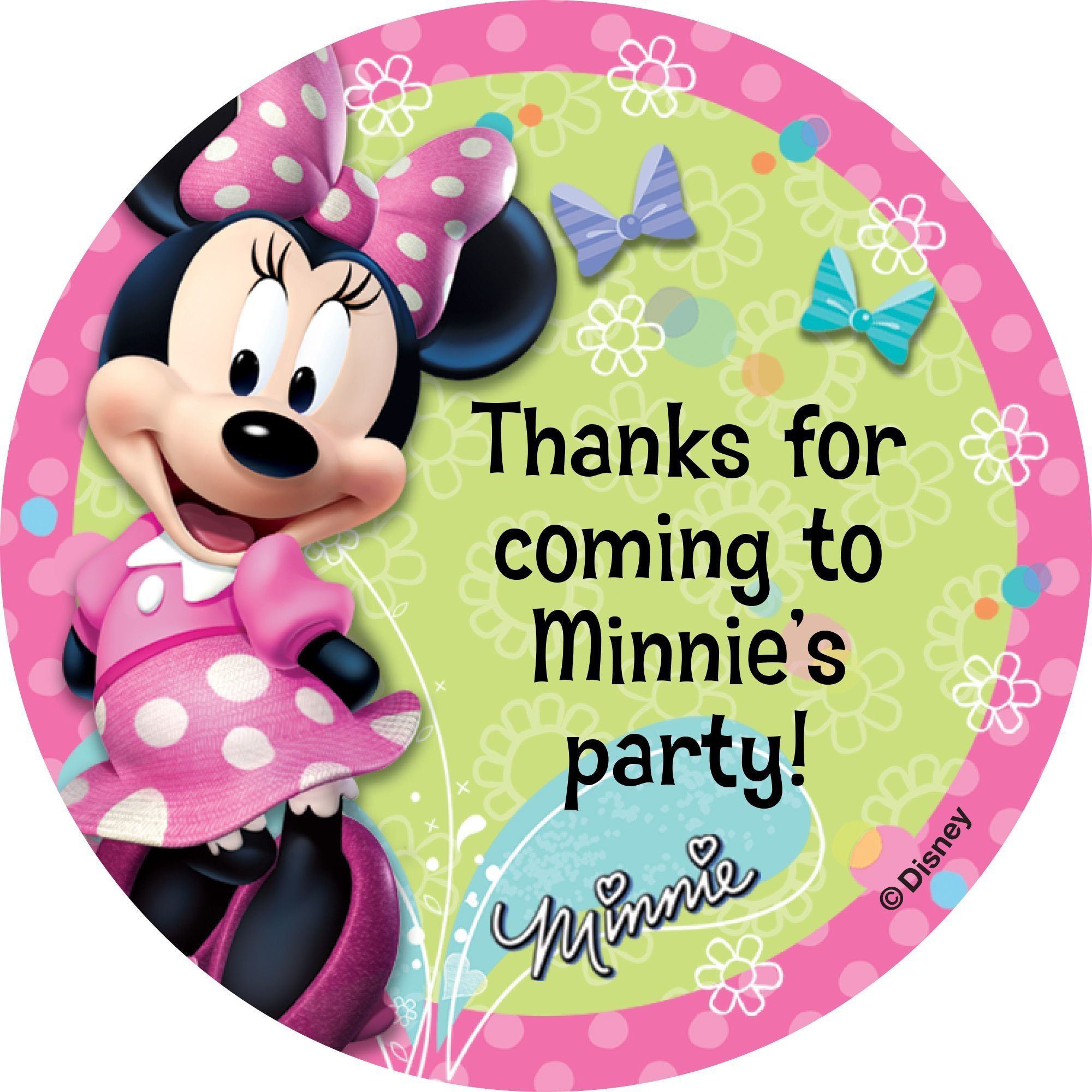 Miss Mouse Stickers Party Supplies Favors