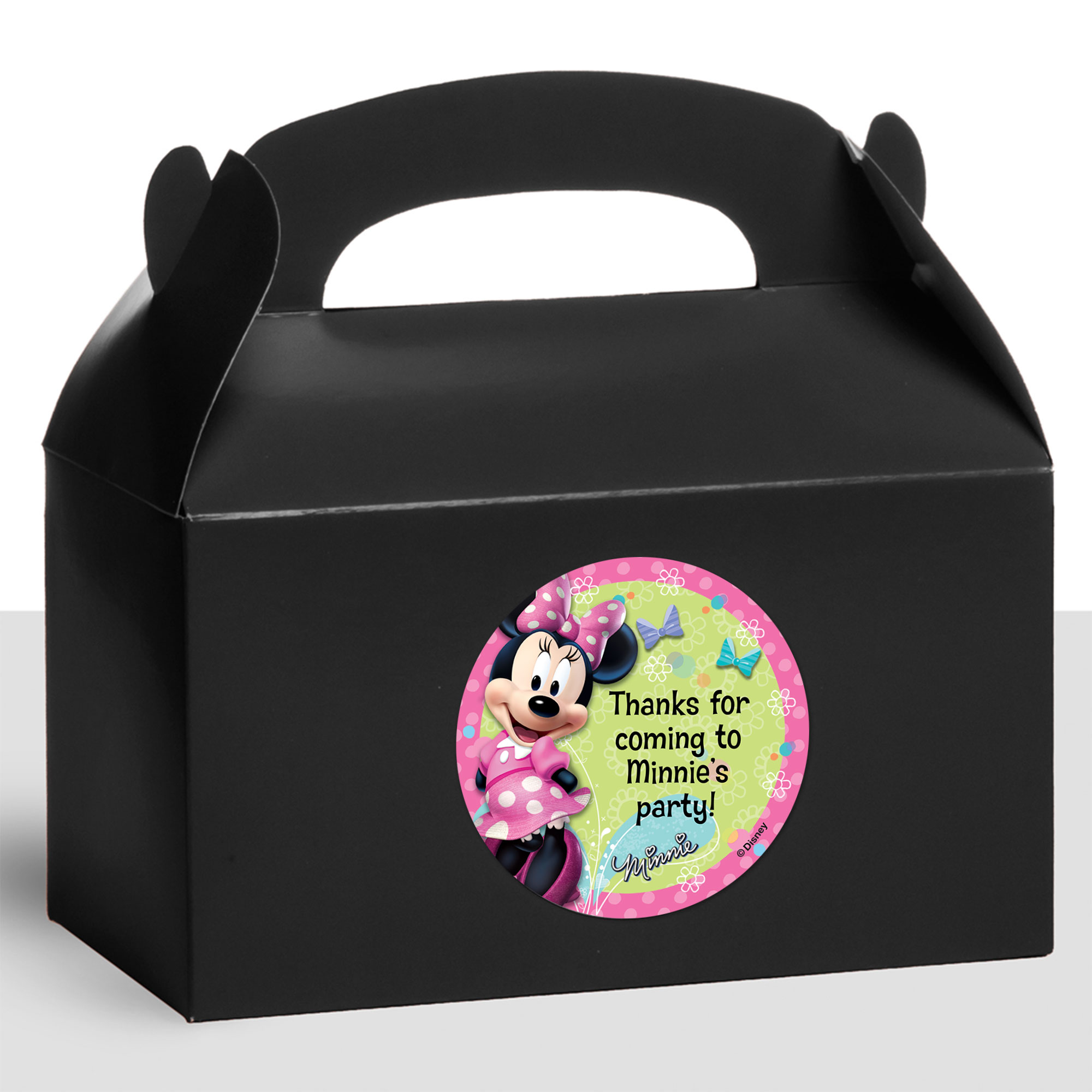 Minnie Mouse Personalized Treat Favor Boxes (12 Count) BB1332TFB