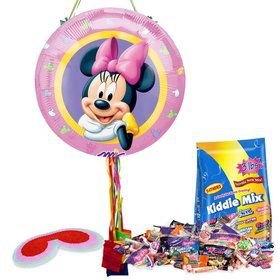 Minnie Mouse Pull String Pinata Kit