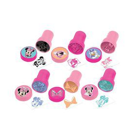 Minnie Mouse Stamper Set Favors (6 Pack)