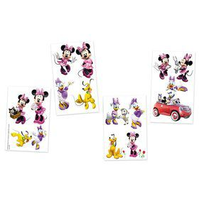 Minnie Mouse Tattoo Favors (16 Pack)