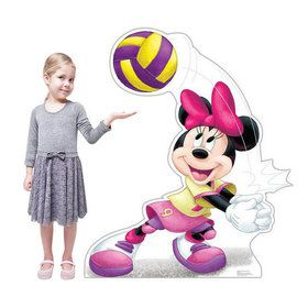 Minnie Mouse Volleyball Stand-Up