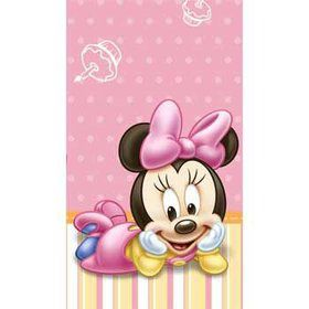 Minnie's First Birthday Table Cover (each)