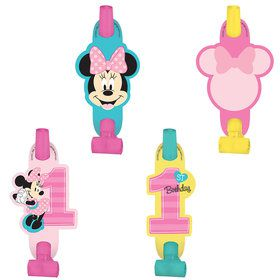 Minnie's Fun To Be One Blowouts (8 Count)