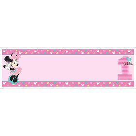 Minnie's Fun To Be One Giant Banner (Each)