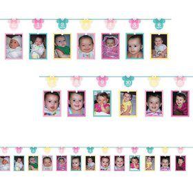 Minnie's Fun To Be One Photo Garland Decoration (Each)