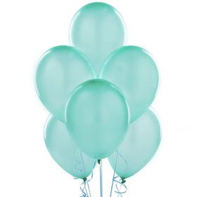 "Mint Green 11"" Latex Balloons"
