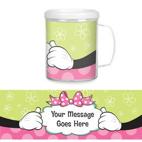 Miss Mouse Personalized Favor Mug (Each)