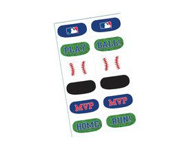 MLB Baseball Tattoo Sheet (1)
