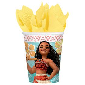 Moana 9oz Cups (8 Count)