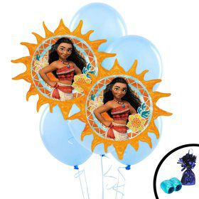 Moana Jumbo Balloon Bouquet