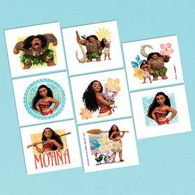 Moana Tattoo Sheet (1)