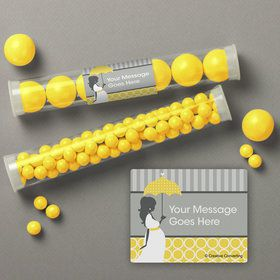 Mod Baby Shower Personalized Candy Tubes (12 Count)