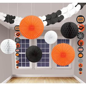 Modern Halloween Decorating Kit (9 Pieces)
