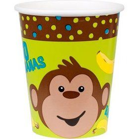 Monkey Around Cups (8-pack)