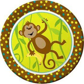 Monkey Around Dinner Plates (8-pack)