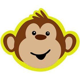 Monkey Around Invitations (8-pack)