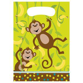 Monkey Around Loot Bags (8-pack)