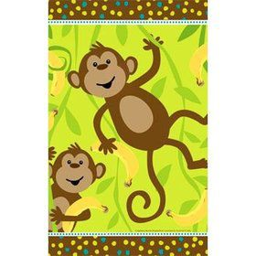Monkey Around Table Cover (each)