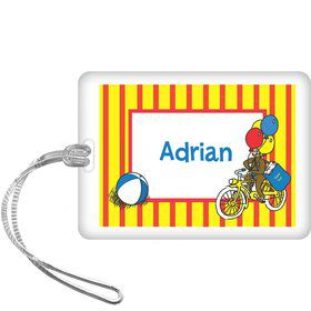 Monkey Personalized Bag Tag (each)