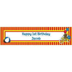 Monkey Personalized Banner (each)