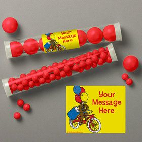 Monkey Personalized Candy Tubes (12 Count)