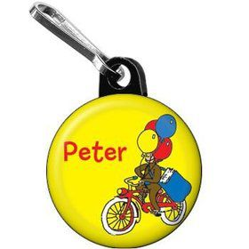 Monkey Personalized Mini Zipper Pull (each)