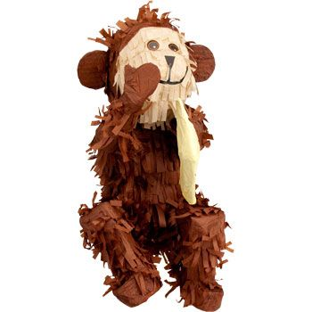 Monkey Pinata - Party Supplies