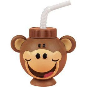 Monkey Sipper Cup (each)