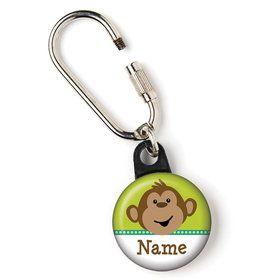 "Monkeying Around Personalized 1"" Carabiner (Each)"