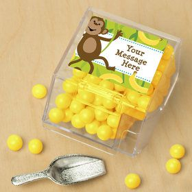 Monkeying Around Personalized Candy Bin with Candy Scoop (10 Count)