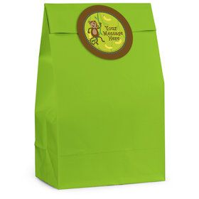 Monkeying Around Personalized Favor Bag (12 Pack)