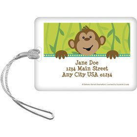 Monkeyin?Around Personalized Luggage Tag (Each)