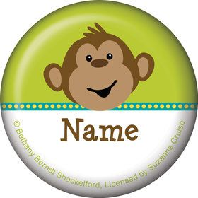 Monkeyin?Around Personalized Mini Magnet (Each)