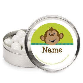 Monkeyin?Around Personalized Mint Tins (12 Pack)