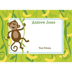 Monkeyin?Around Personalized Thank You (Each)