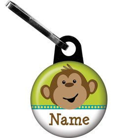 Monkeyin?Around Personalized Zipper Pull (Each)