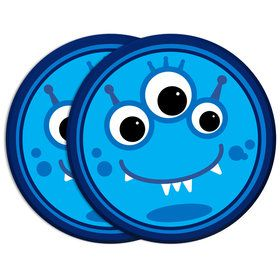 """Monster 7""""Plate (8 Count)"""