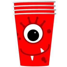 Monster 9oz Cups (8 Count)