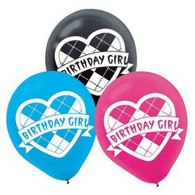"Monster High 12"" Latex Balloons (6 Pack)"