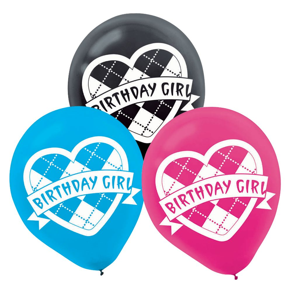 Monster High Latex Balloons - Party Supplies BB101021