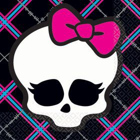 Monster High Beverage Napkins (16-pack)