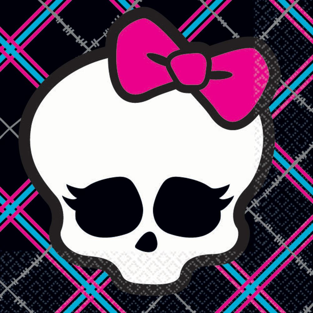 Monster High Beverage Napkins - Party Supplies BB101022